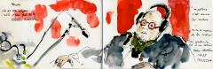artracaille,radio libertaire,urban sketchers paris,claire archenault,mathieu letellier,moraes tula,delphine atelier de la salamandrepikekou shlomo