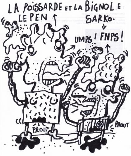 le Pen, Sarko, élections départementales, pièges à cons